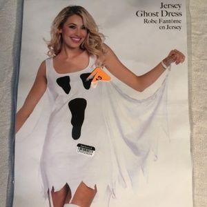 NWT LAST ONE! Leg Avenue Jersey Ghost Dress S/M